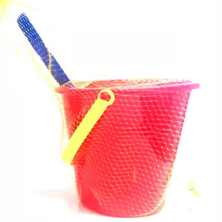 Small Bucket & Spade in Net