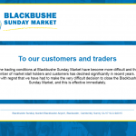 Blackbushe Market closes after shock announcement