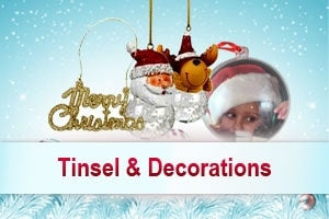 Wholesale Tinsel & Decorations