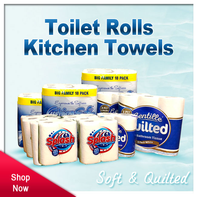 Toilet Roll & Kitchen Towel Wholesale