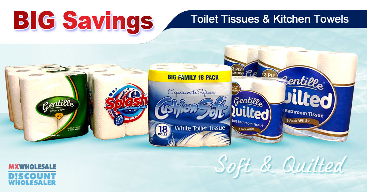 Toilet Rolls Wholesale