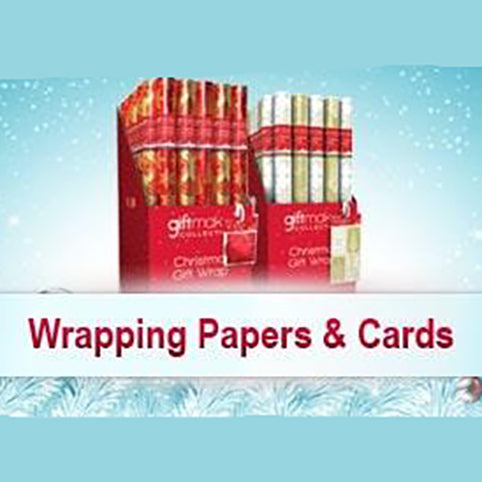 Chritmas Wrapping Paper & Card Wholesale