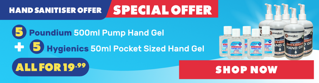 Hand Sanitizer Gel Bundle
