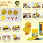 Making An Easter Chick Jaggy