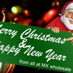 The MX Wholesale Team Wishes You A Very Merry Christmas & Happy New Year!