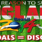 Support England During Brazil 2014 World Cup