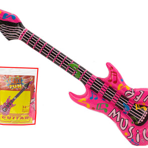 34inch Inflatable rock guitar
