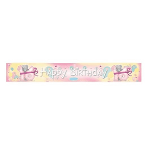 """Happy Birthday 16"" Me to You Teddy Design Foil Banner - Case of 6"