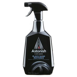 Astonish Car Care Black Shine Restorer 750ml