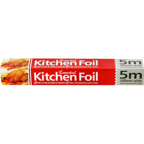 Essential Kitchen Foil 5 Meters x 300mm