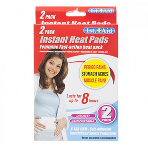 Ladies Instant Heat Pads 2 Pack