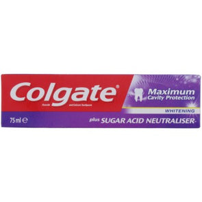 Colgate Toothpaste Maximum Cavity Protection Whitening 75ml - Case of 12