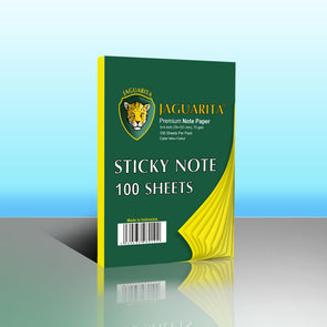 Jaguarita Premium Cyber Yellow Sticky Notes