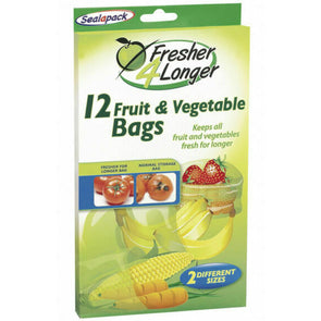 Sealapack Fruit & Vegetable Bags 12 Pack