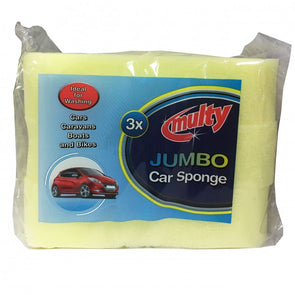 3 Pack Car Sponges
