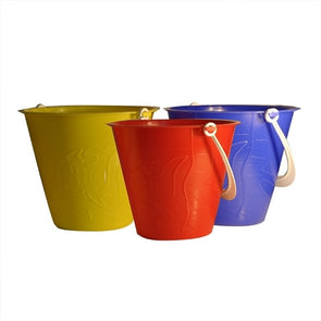 Embossed Beach Bucket