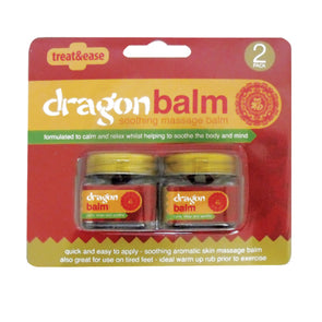 Treat & Ease Dragon Massage Balm 2 Pack