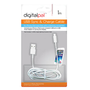 DigitalPal iPhone 5 USB Charge Cable 1 Metre