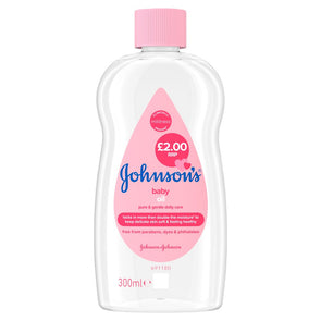 Johnson's Baby Oil 300ml