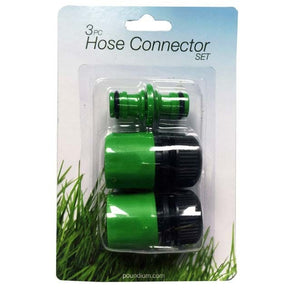 3pc Hose Connector Set