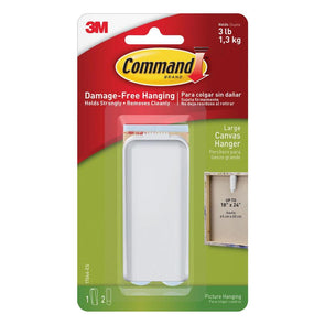 3M Command Large Canvas Hange