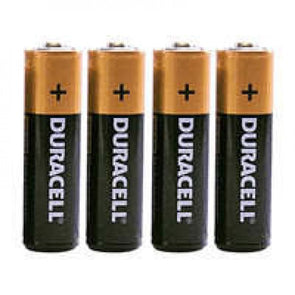 Duracell Batteries AA Pack of 4