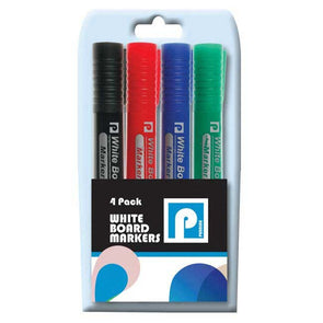 White Board Markers A Pack of 4