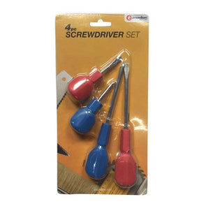 4pc Cabinet Handle Screwdriver Set