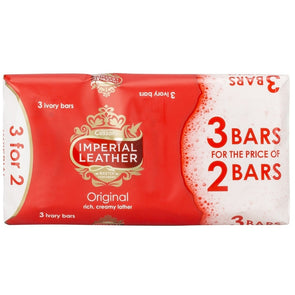 Imperial Leather Original Soap Bar 3 x 100g