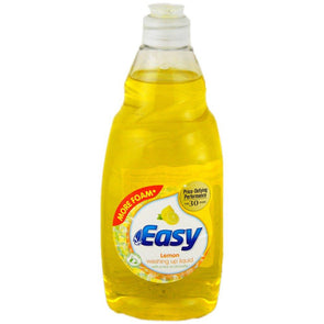 Easy Washing Up Liquid Lemon 500ml - Case of 8