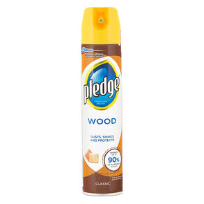 Pledge Wood Polish Classic 250ml - Case of 6