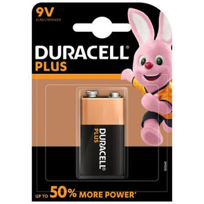 Duracell Plus 9V Battery MN1604 - Case of 10