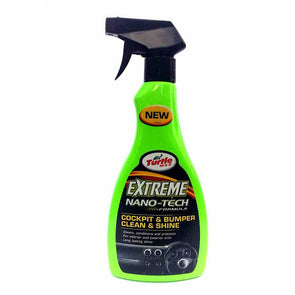 Turtle Wax Cockpit & Bumper Clean & Shine 500ml Trigger