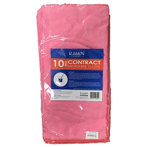 Ramon Microfibre Cloths Pink