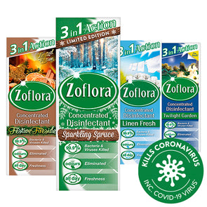 Zoflora Antibacterial Disinfectant Concentrated 3in1 Action 120ml