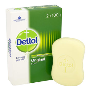 Dettol Antibacterial Original Soap 2 x 100g Twin Pack