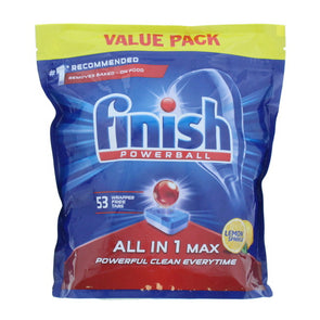 Finish All in 1 Max Powerball Dishwasher 53 Tablets