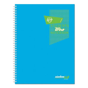 Silvine Students Wiro Notebook A5 Spiral - Case of 6