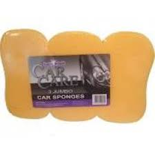 Super Bright Jumbo Car Sponges 3 Pack
