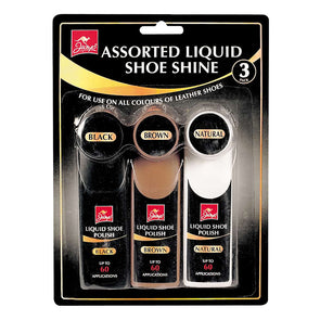 Jump Assorted Liquid Shoe Shine 3 Pack