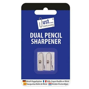 High Quality Metal Dual Pencil Sharpener 2 Pack