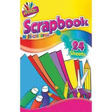 Scrapbook Multi-Coloured Paper