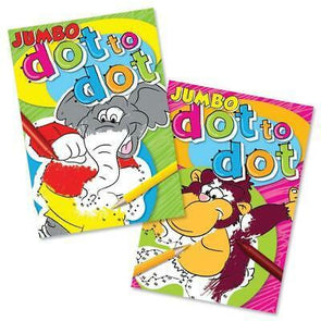Super Jumbo Dot To Dot Book