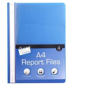 A4 Business Report Presentation Files 4 Pack