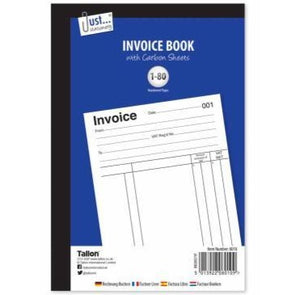 Invoice Book, Full size 80 sets