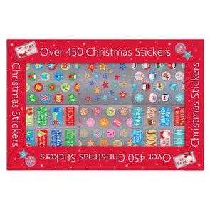 Over 450 Christmas Decorative Stickers