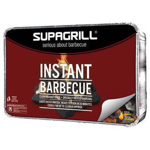 Supagrill Complete Disposable Instant BBQ Tray XL Party