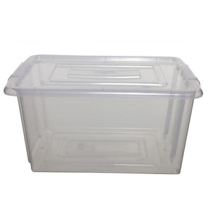 Stackable Storage Container Box Clear Large