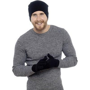 Mens Hat And Glove