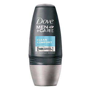 Dove Roll On 48h Anti-transpirant Deodorant Men+Care Clean Comfort 50ml - Tray of 6